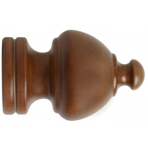 "Kirsch 2"" Wood Trends Sherwood Finial~Each"