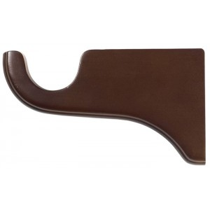 "Kirsch Wood Trends Bracket for 2"" Curtain Rod~6"" Return~Each"