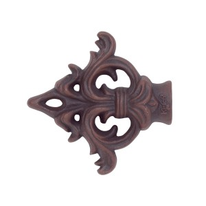 Acanthus Arrow Curtain Rod Finial ~ Pair