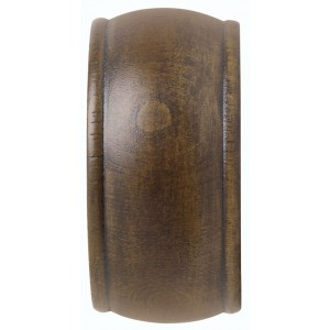 "Kirsch 3"" Wood Trends End Cap Finial~Pair"