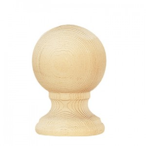 "Naches Finial for 2 1/4"" Wood Curtain Rods~Each"