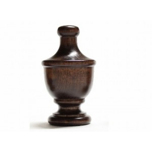 "Urn Finial for 1 3/8"" Wood Rod~Each"
