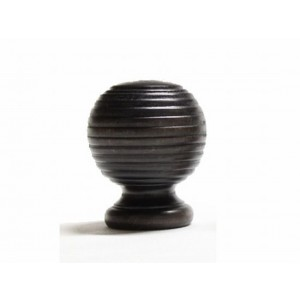 "Globe Finial for 1 3/8"" Wood Rod~Each"