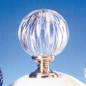 Blown Lead Crystal Finial