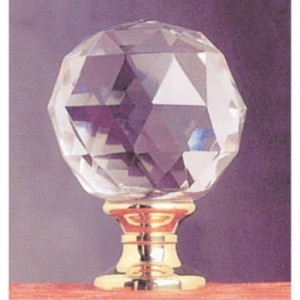 Solid Crystal Finial