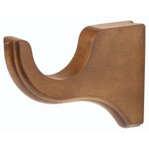 "Kirsch 3"" Wood Trends 4 1/2"" Return Bracket~Each"