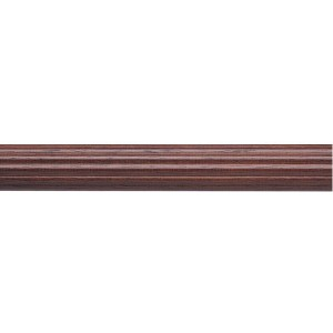 "Kirsch 3"" Wood Trends Classic Fluted 6' Wood Pole"