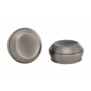 """Rao Curtain Rod End Caps for 1 3/8"""" Drapery Rods~Pair"""