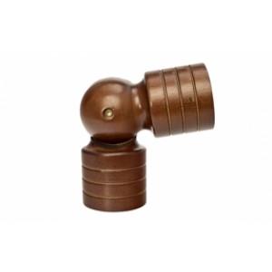 "Kirsch Wood Trends Swivel Socket for 2"" Curtain Rod~Each"