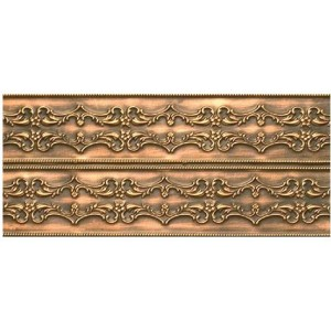 Embossed Double Cornice (By the foot)