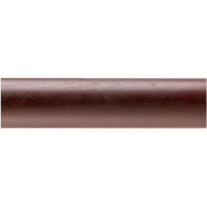 "Kirsch Buckingham 4' Smooth Curtain Rod ~ 2"" Diameter"