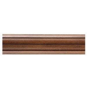 "Kirsch Buckingham 8' Fluted Curtain Rod ~ 2"" Diameter"