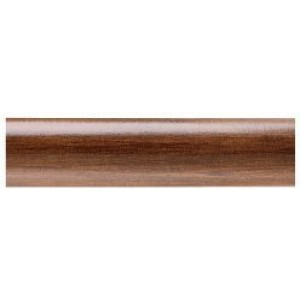"Kirsch Buckingham 6' Smooth Curtain Rod ~ 2"" Diameter"