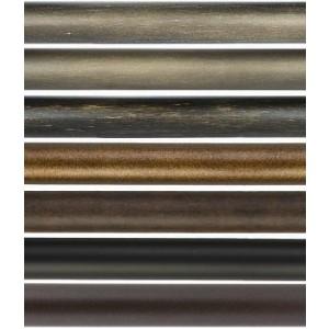 "4' Smooth Curtain Rod~1"" Diameter"