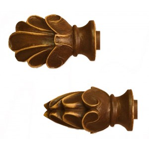 Shell Finial~Each