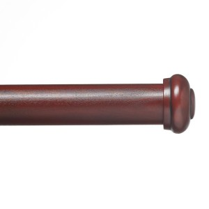 "End Cap Single Rod Set ~ 1 3/8"" Diameter"