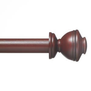 "Duke Double Rod Set ~ 1 3/8"" Diameter"