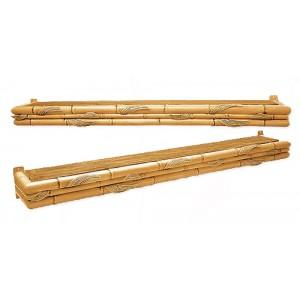 """Bamboo Cornice 3 1/2""""H"""