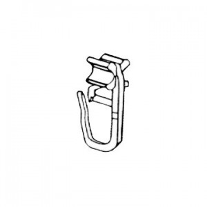 """Glider Hook for 3/4"""" Techno Curtain Track~Each"""