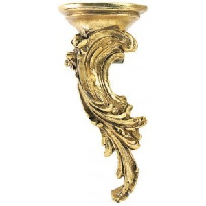 "Finesse 2"" or 2 1/4"" Rococo Bracket - Left"