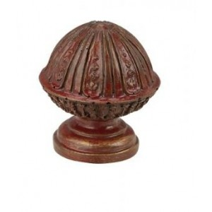 Finesse Bamboo Small Ball Finial ~ Each