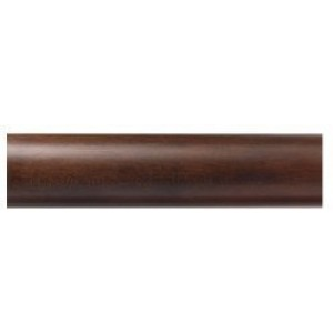 "Kirsch Buckingham 8' Smooth Curtain Rod ~ 1 3/8"" Diameter"