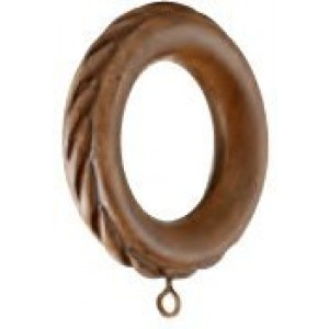 "Kirsch Buckingham Rope Ring for 2"" Curtain Rod~ Each"