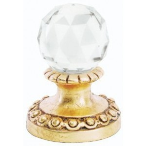 Finesse Small Faceted Crystal Finial