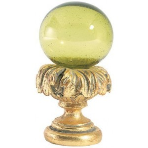 Lime Ball Finial