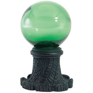 Green Ball Finial