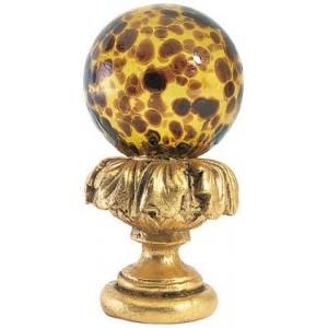 Tortoise Shell Ball Finial