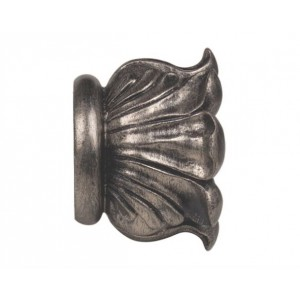 "Elizabeth Finial for 3"" Wood Drapery Rod~Each"