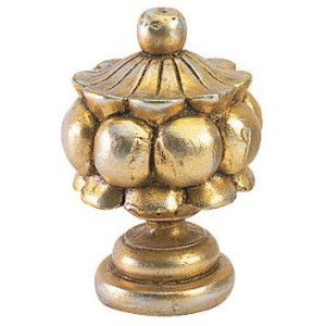 Finesse Beaded Classic Finial ~ Each