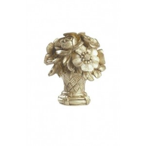 Finesse Flower Basket Finial ~ Each