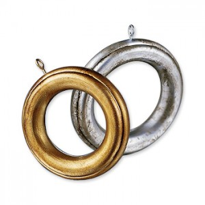 Robert Allen Costume Fluted Rings (10)