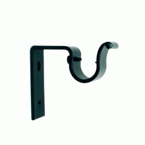 "Iron Bracket for 1 1/2"" Rod Diameter~3 1/4"" Return"