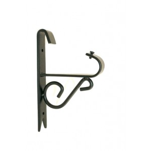 "Iron Scroll Bracket for 3/4"" Curtain Rods~Each"