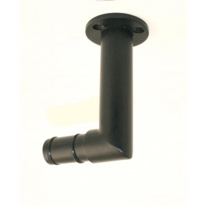 "Iron Elbow Return Bracket for 1 1/2"" Rod Diameter~3"" Return"