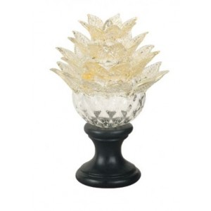 Murano Gold Touch Finial
