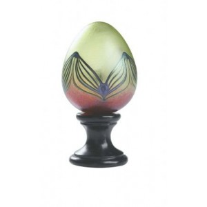 Peacock Feathers Finial