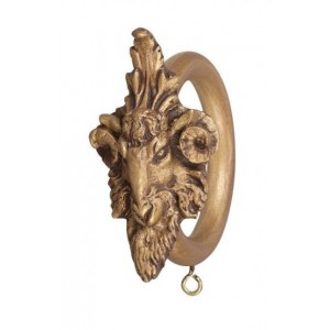 "2"" Ram Head Decor Ring"