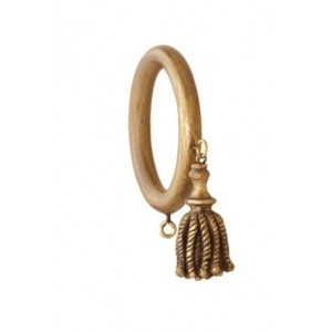 "2 1/4"" Cord Tassel Decor Ring"