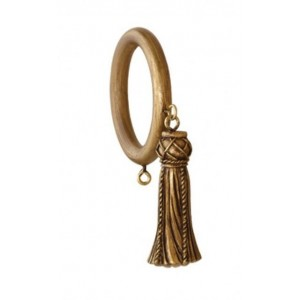 "2 1/4"" Classic Tassel Decor Ring"