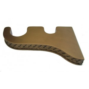 "Siobhan Double Bracket for 2"" & 1 3/8"" Wood Pole"