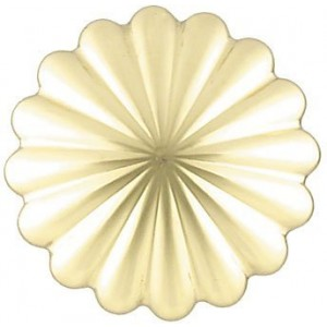 "Malaga Curtain Rosette~2 1/4"" Diameter~Each"