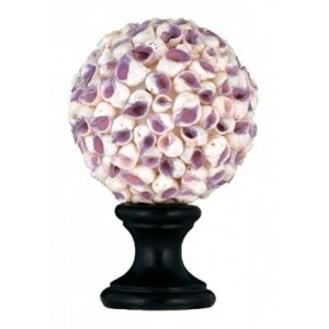 Purple Beauty Shell Finial