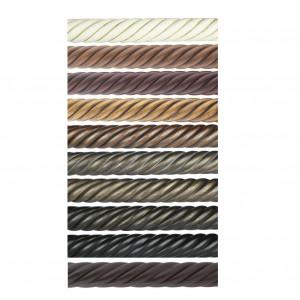"""8' Twist Wood Curtain Rod (6 ply)~2 1/4"""" Diameter"""