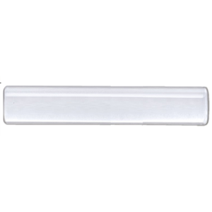 "4' Acrylic Lucite Curtain Rod 1 1/8"" Diameter"