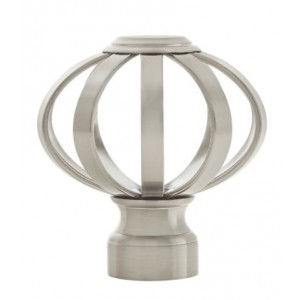"""Bird Cage Finial for 1 1/8"""" Drapery Rods~Each"""