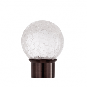 Aria Crackle Glass Oil Rubbed Bronze